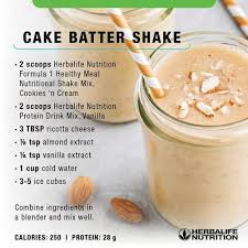 It's birthday season around our house. Don T Ruin Your Healthy Living Plan Due To A Cake Craving Herbalife Recipes Herbalife Shake Recipes Herbal Life Shakes