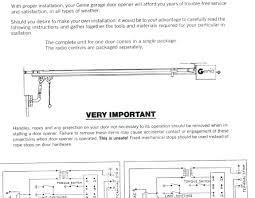Garage Door genie garage door manual pictures : Genie Garage Door Opener H6000a Owners Manual - Wageuzi