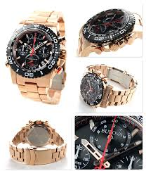 nanaple rakuten global market bulova precisionist chronograph bulova precisionist chronograph quartz men s 98b213 bulova watch black rose gold