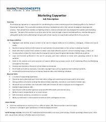 marketing copywriter job description marketingconceptscom copywriter job description