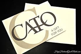 cato gift card balance photo 1