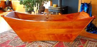 wooden bathtub double joan