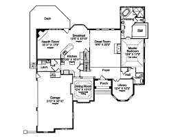 luxury house plan first floor 065s 0017 house planore
