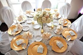 white table settings. White And Gold Table Settings Images Of Setting With