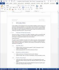 Study Guide Template Microsoft Word Microsoft Word User Manual