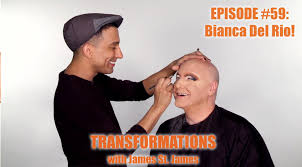 James St. James and Bianca Del Rio Transformations YouTube