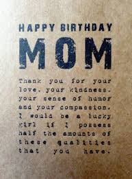 Birthday Quotes For Mom Mesmerizing 48 Unique Happy Birthday Mom Quotes Wishes With Images BayArt