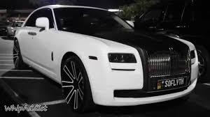rolls royce ghost white 2014. whipaddict white audi s7 and rolls royce ghost on at velvet room atlanta youtube 2014 r