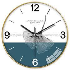 china gingko wall clock wall art clock