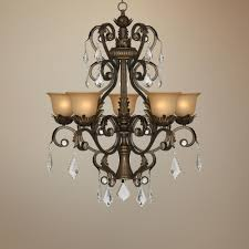 kathy ireland ramas de luces bronze 31 wide chandelier