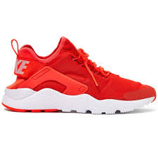 nike shoes red and white. nike red air huarache run ultra trainers (550 ils) ❤ liked on polyvore featuring shoes and white e