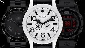Nixon Watch Display Stand Interesting These Star Wars Nixon Watches Will Lure You To The Dark Side Geek