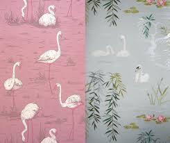 Pink Wallpaper For Bedroom 50s Vintage Reproductions Wallpaper Google Search Vintage