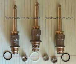 unusual design shower faucet handle replacement three repair replacing handles pfister 3 leak of rless