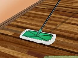 image led clean polyurethane wood floors step 1