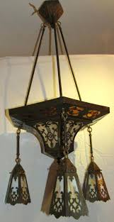 arts and crafts chandelier best lighting images on wall sconces arts crafts regarding new house arts