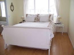 Leirvik Bed Frame White Queen