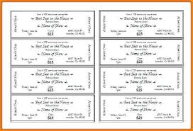 Free Concert Ticket Template Delectable Concert Ticket Template Word Event Tickets Free Download