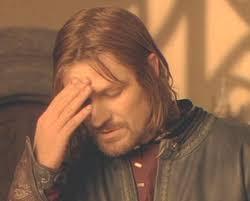 Frustrated Boromir Blank Meme Template | Meme templates ... via Relatably.com