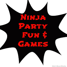 ninja party clipart. Interesting Party Ninja Party Fun U0026 Games With Clipart A