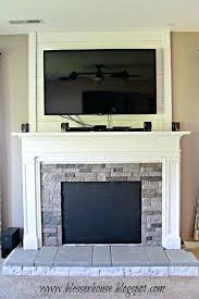 new faux fireplace mantels or faux fireplace progress house featured on 13 faux fireplace mantels for