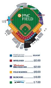 Visalia Rawhide Seating Chart Pnc Field Seating Chart Scranton Wilkes Barre Railriders