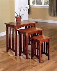 piece nesting table table set  nesting tables