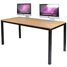 Office desk workstation Multiple Workstation Amazoncom Dlandhome 55 Amazoncom Amazoncom Dlandhome 55