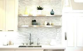 gray and white marble tile grey glass herringbone backsplash blue kitchen