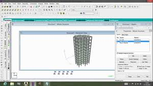 Small Picture Reinforced Concrete Design Using STAAD PRO v8i YouTube