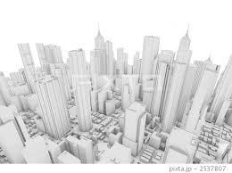 街並み 高層ビル イラストのイラスト素材 2537807 Pixta