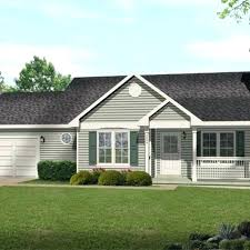 small ranch house plans with walkout basement style open floor plan front porch home designs and
