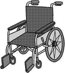 Otナガミネのリハビリイラスト集福祉用具車椅子車いす車イス普通型