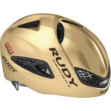 Rudy Project Boost 01 Time Trial Helmet Gold Shiny