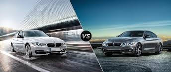 2015 BMW 3-Series vs BMW 4-Series