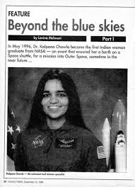 Kalpana Chawla Birth Chart Kalpana Chawla Beyond The Blue Skies Indian Astronauts