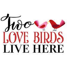 two love bird silhouette. Beautiful Silhouette With Two Love Bird Silhouette E