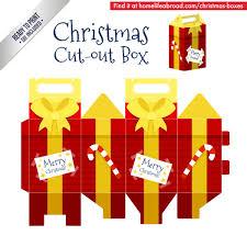 box christmas gift box template image of new christmas gift box template