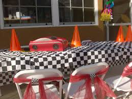Cars Table Decorations Cars Birthday Party Hippojoys Blog