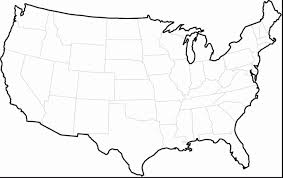 Printable Coloring Pages United States Map Printable Educations
