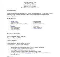 Resume Templates Marvelous Skills For Retail Sales Associate