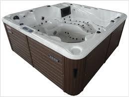 deluxe acrylic transpa bathtub jet whirlpool jacuzzi hot tub with tv