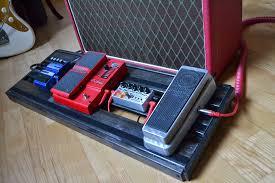 diy guitar pedal board