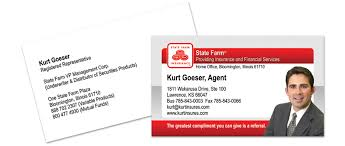 state farm business cards