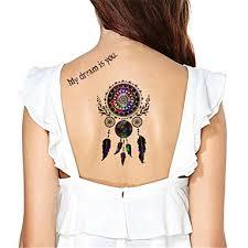 Tetovací Nálepky Ostatní Non Toxic Waterproof Dámské Pánské Dospělý Dospívající Flash Tattoo Dočasné Tetování