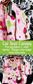 i love how this pattern wraps around the outside to keep it from hanging on the save you can make a beautiful car seat that
