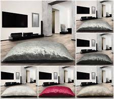 oversized floor cushions. Fine Cushions Extra Large Luxury Crushed Velvet Multi Purpose Soft Floor Cushion AntiSlip For Oversized Cushions