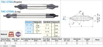 Tac Ctdal1 Tialn Coated Carbide Center Drill 60