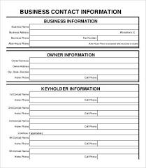 Business Form Template 40 Free PDF Documents Download Free Magnificent Business Forms Templates