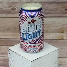 Labatt Blue Light Zubaz Soy Candle Labatt Blue Light 2016 2017 Buffalo Bills Zubaz Beer Can Soy Candle With Custom Scent Or Fragrance In 12oz Aluminium